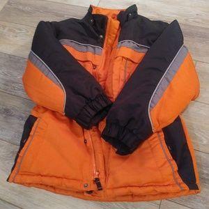 Arizona boys orange jacket